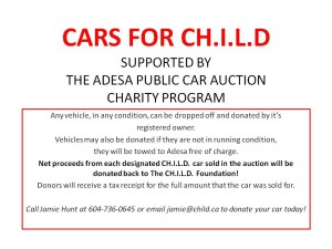 Cars for CHILD