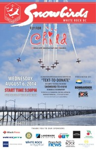 Snowbirds Fly for CH.I.L.D.